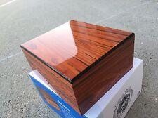 New Craftsman's Bench Saxon 65-Cigar Deluxe Humidor