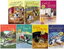 Magical Cat Mysteries Series Collection Set Books 1-7 by Sofie Kelly Brand New