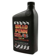 1 Quart of Brad Penn Grade 1 SAE 30W High Performance Racing Engine Oil