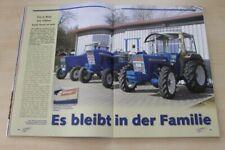 Schlepper Post 613) Ford 2000 3055 5000 in einer seltenen Vorstellung auf 4 S