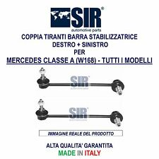 2 BIELLETTE / TIRANTI BARRA STABILIZZATRICE MERCEDES CLASSE A W168 1997-2004