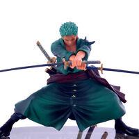 Japanese BANPRESTO Anime One Piece Roronoa Zoro Dolls Action Figure UK SELLER