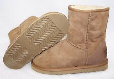 NEW Infant Toddler Girls Size 13 / 1 Youth AUSTRALIA LUXE Chestnut Boots Shoes