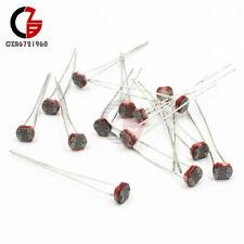 30PCS Photoresistor LDR CDS 5mm Light-Dependent Resistor Sensor GL5516 Arduino