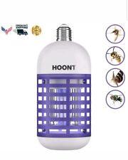 Hoont Electric Indoor Bug Zapper Bulb Killer Catcher Trap – Fits All...