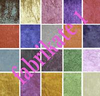 Crushed Velvet stretch Dress craft backdrop Fabric (Sample)Price Per M £2.25