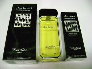 DETCHEMA / Revillon 120ml Splash EDP SUPER RARE!