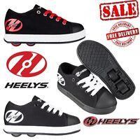 Heelys Fresh Kids Wheels Trainers Girls Boys Roller Skates Shoes Black On Sale