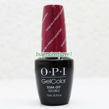 Gel Polish OPI GelColor Soak Off Nail Colours 15ml 0.5oz Choose Any * Series 3