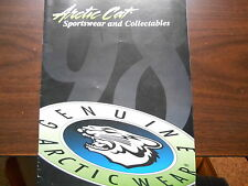 1998 Arctic Cat Sportswear & Collectables Catolog