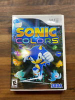 Sonic Colors - Nintendo Wii, 2010 - Complete, disc, case & booklet