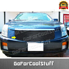 For 2003 2004 2005 2006 2007 Cadillac Cts Upper 1Pc Black Billet Grille Insert