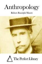 Anthropology by Robert Ranulph Marett (2015, Paperback)