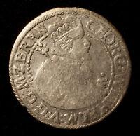 Kfsm. Brandenburg-Preußen, Georg Wilhelm, 1/4 Taler (Ort) 1623 Königsberg