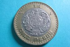 Mexico Bimetallic 10 Pesos Coin Mexico Bimetallic Diez Pesos (Random year)