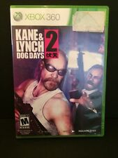Kane & Lynch 2: Dog Days Xbox 360 Video Game Rated M Mature