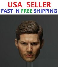 1/6 Jensen Ackles Dean Winchester Head for Supernatural 12'' MALE PHICEN
