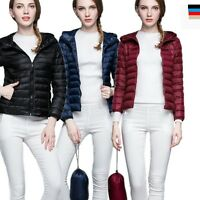 Women's Hooded Packable Ultra Light Weight Short Down Jacket Coat Fashion Style