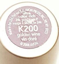 RARE FIND! Avon Ultra Rich 24K GOLDEN WINE Lipstick K200 *NEW & UNSEALED* / NOS