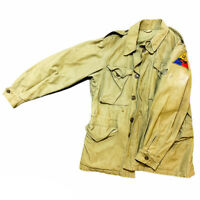 Rare WWII 'salty' 12th Armored Division M43 Combat Field Jacket Relic