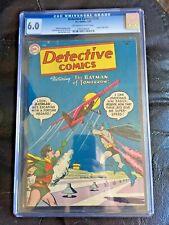 DETECTIVE COMICS #216 CGC FN 6.0; OW-W; robot story! scarce!