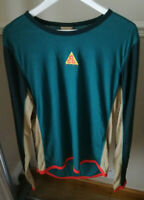 Men's Nike ACG LS Baselayer Jersey Top - Size Medium - AQ2306-381 - Green Abyss