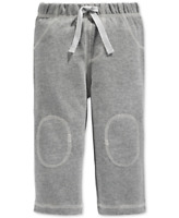 First Impressions Baby Boys' Solid Pants in Pewter Heather Grey, Retail $13.00