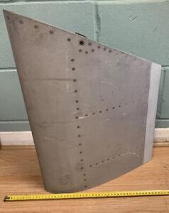 Aviation Aircraft Aeroplane Embraer Aluminium Offcut Wing Edge Mancave Upcycle