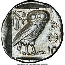ATTICA. Athens. NGC Choice AU 4/5 - 3/5 - Ca. 440-404 BC. AR TETRADRACHM  - 061