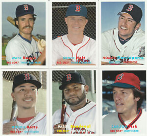 Boston Red Sox 2015 Topps Archives 16 Card Team Set Ted Williams Bogaerts Boggs