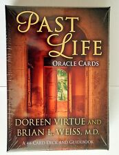 DOREEN VIRTUE PAST LIFE ORACLE CARDS - 44 Oracle Cards & Guide Book