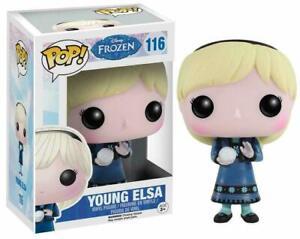 """DISNEY FROZEN 2 YOUNG ELSA 3.75"""" VINYL FIGURE POP FUNKO BRAND NEW 581"""