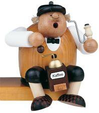 "German Incense Smoker KWO Coffee Lover Handmade Wood 6"""