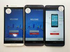 Lot of 3 HTC Desire 626s OPM9110 8GB Metro PCS/Cricket Check IMEI GLC TO-536