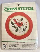 Designs for the Needle Christmas Joy Red Cardinal Cross Stitch Kit New #3111