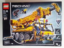 LEGO Technic 8421 Mobile Crane with Motor and Pneumatic, partly NEW sealed, RARE