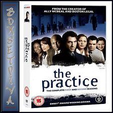 THE PRACTICE - COMPLETE SEASONS 1 & 2 **BRAND NEW DVD BOXSET ***