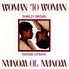 """SHIRLEY BROWN """"WOMAN TO WOMAN (STAX REMASTERS)"""" CD NEW+"""