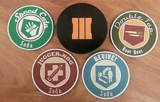 Call of Duty: Black Ops III 3 Juggernog Edition *COASTERS SET w/TIN ONLY*