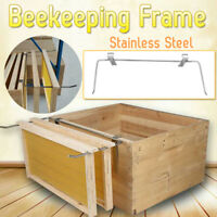 Stainless Steel Beekeeping Frame Holder Bee Hive Honeycomb Perch Side Mount