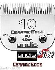 Andis Ceramicedge 10 Lama Per Ag, Agc Oster A5, A6 Molti Wahl Tosatrice Pet Cura