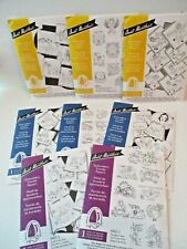 Lot of 8 Aunt Marthas Hot Iron On Transfers Embroidery FREE SHIP horse holiday