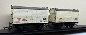 Dapol GWR TE vans 59767 & 59750 numbering (ex Wrenn body mouldings)
