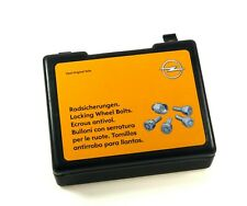Genuine Opel Wheel Lock Nuts Astra Adam Corsa Meriva Signum 9162914 1008514