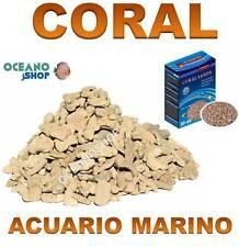 GRAVA CORAL GP-04 NATURAL PARA fondo ACUARIO MARINO 900Gr filtracion filtro sump