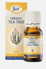 Olio Essenziale TEA TREE Essenza JUST Bio Naturale 10ml Gocce