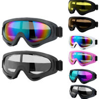 2Pack Snow Ski Goggles Men Anti-fog Lens Snowboard Snowmobile Motorcycle UTV ATV