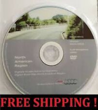 2016 AUDI MMI 2G NAVIGATION DVD NORTH AMERICA USA + CANADA GPS ROAD MAP UPDATE .