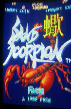 *** Sand Scorpion Face PCB Boxed Arcade jamma ***