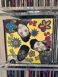 UK Original 1989 • De La Soul • 3 Feet High And Rising • LP Vinyl Record
